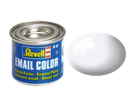Email Color, White, Gloss, 14ml, RAL 9010