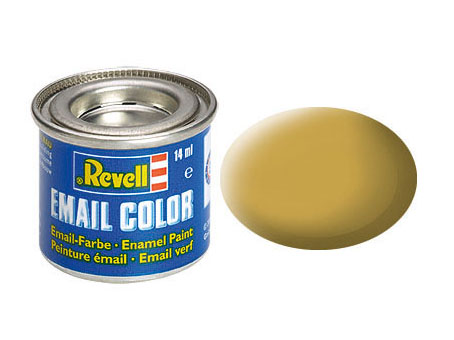 Email Color, Sandy Yellow, Matt , 14ml, RAL 1024