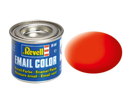 Email Color, Luminous Orange, Matt, 14ml, RAL 2005