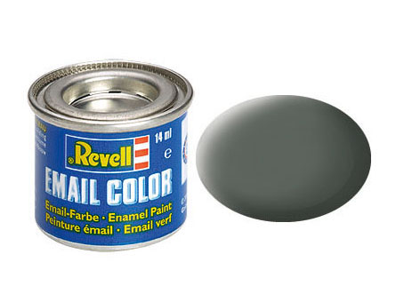 Email Color, Olive Grey, Matt, 14ml, RAL 7010