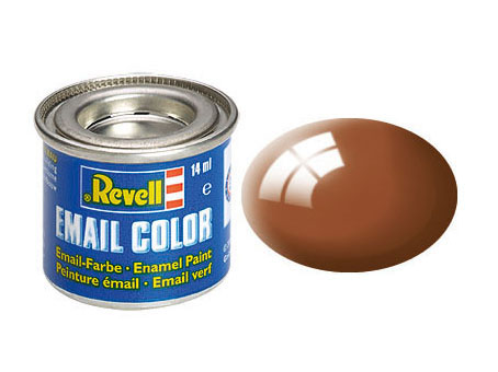 Email Color, Mud Brown, Gloss, 14ml, RAL 8003