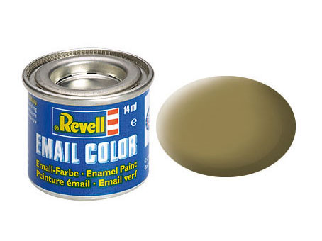 Email Color, Olive Brown, Matt, 14ml, RAL 7008