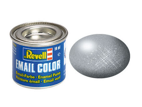 Email Color, Silver, Metallic, 14ml
