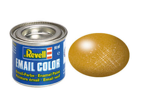 Email Color, Brass, Metallic, 14ml