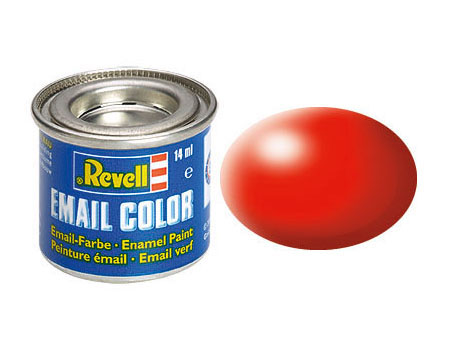 Email Color, Luminous Red, Silk, 14ml, RAL 3024