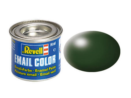Email Color, Dark Green, Silk, 14ml, RAL 6020