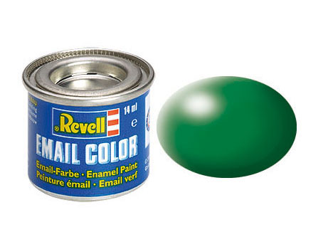 Email Color, Leaf Green, Silk, 14ml, RAL 6001