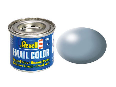 Email Color, Grey, Silk, 14ml, RAL 7001