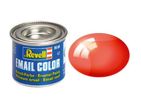 Email Color, Clear Red, 14ml
