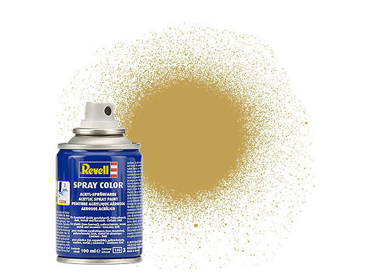 Spray Color, Sandy Yellow, Matt, 100ml