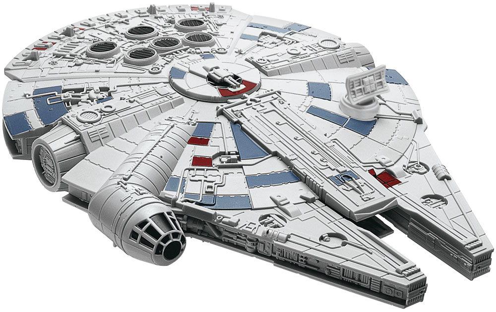 Revell Star Wars Millennium Falcon 1//72 Level 5