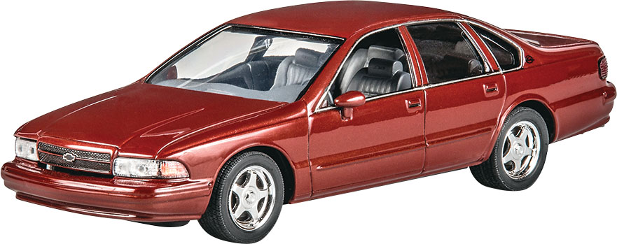 Parts Of A Car 94 >> Revell 94 Chevy Impala Ss